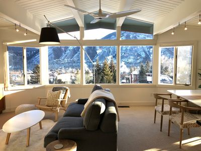Photo for New to Market: Aspen Mountain Ski In/Out. Heated Pool. Best views in Aspen!