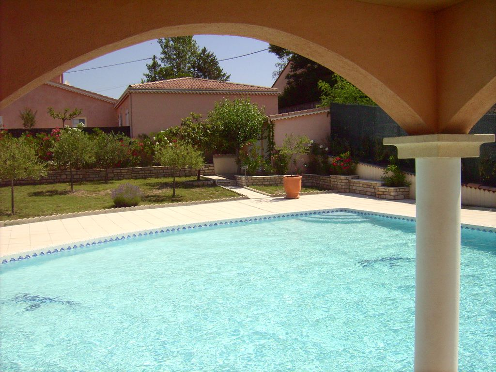 Gite near valley pnt d 39 arc with swimming pool grospierres ardeche rhone alpes rentbyowner - Arc swimming pool ...