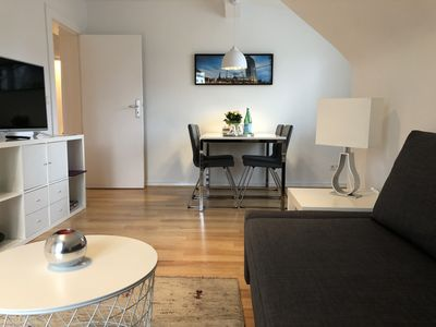 Photo for Cozy attic apartment near fair / ZOB, Olympic Stadium and the Waldbühne