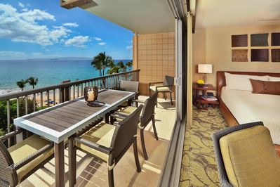 Enjoy paradise from your private lanai!
