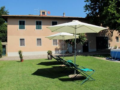 Photo for Beautiful apartment for 13 guests with WIFI, private pool, TV, pets allowed and parking
