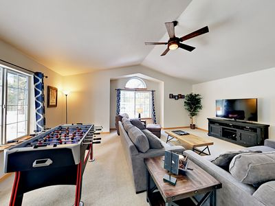 Photo for Gold Dust Getaway - 3BR w/ Foosball, Big Deck & Forest Views - Near Slopes