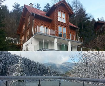 Photo for Dream view 145 m2 pool sauna, free Konus - guest card and Gutachtal - Card