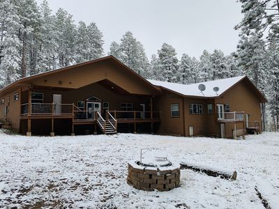 Photo for NEW Durango Paradise in the Pines/with NEW BEDS on 3 acres/