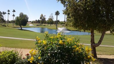Photo for Westbrook Village home has beautiful golf course and lake view