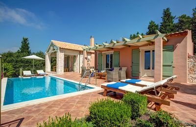 Photo for 3 bedroom Villa, sleeps 5 in Mánganos with Pool, Air Con and WiFi