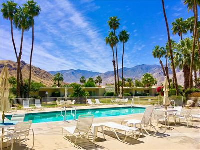 Photo for Delightful and Sophisticated Midcentury Modern Palm Springs Hideaway