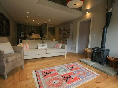 Photo for CHESTNUT BARN, pet friendly, with open fire in Notgrove, Ref 988769