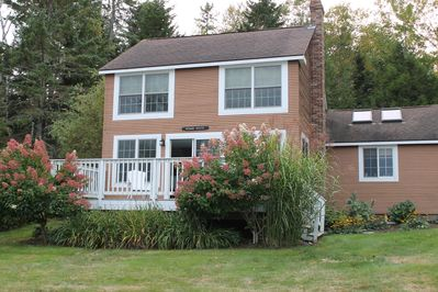 Beautiful and updated Wharf house with ocean views, 3 Bedroom 2 full baths