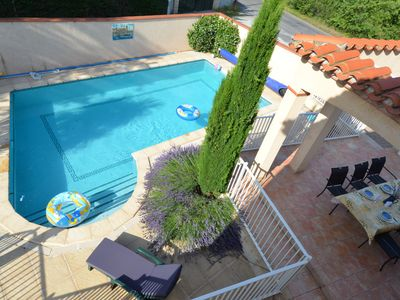 Photo for Villa with heated pool and large garden.