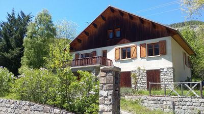 Photo for Grand Chalet 6 bedrooms, expo south, clear view, 15 people