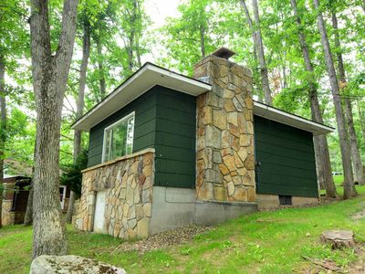 Photo for Middle Fork Creek- 1 Bedroom Lakefront Cabin