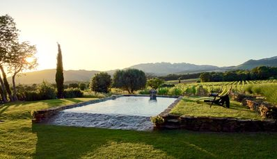 Photo for La Micoucoule Bergerie XVIII century stone Absolute calm Private pool