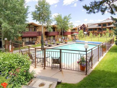 Photo for Convenient Ski In/ Ski Out Condo with Heated Pool and Hot Tub Access