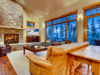 Photo for Vista Retreat at Highlands: New! Private Hot tub, Yoga Studio, Grill, Theater