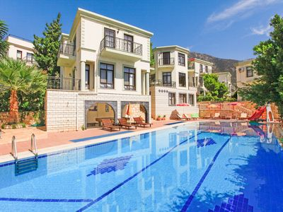 Photo for Villa Myros: Swimming Pool, Walk to Beach, A/C, WiFi, Car Not Required