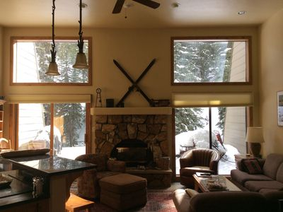 Photo for Splendid 3 BR Townhome Creekside at Casa Del Sol by Free Bus Line to Slopes