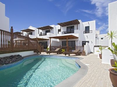 Photo for Casa Hibiscus is a modern, spacious, semi-detached holiday villa