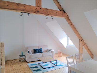 Photo for Large and very bright Studio in the heart of Solidor near Saint-Malo Intramuros