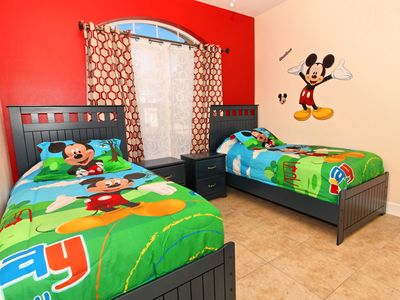 Photo for 4BR/3BA Upgraded Villa w/ South Facing Pool; 3 miles to Disney!!  See Discounts!