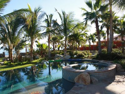 Photo for BEACHFRONT LIVING IN A TROPICAL GARDEN SETTING