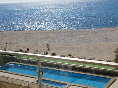 Photo for APARTMENT/FLAT SEAFRONT  LOCATED IN TOWN CENTER, QUIET AREA