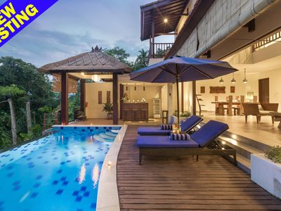 Photo for 4 Bedroom Villa w/ Infinity Pool Near Ubud;