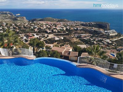 Photo for HMR Villas - Apartment Vista Mar - Moraira