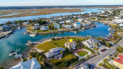 Photo for GARDEN CITY BEACH HOUSE WITH BEAUTIFUL BEACH VIEWS AND DEEP WATER INLET
