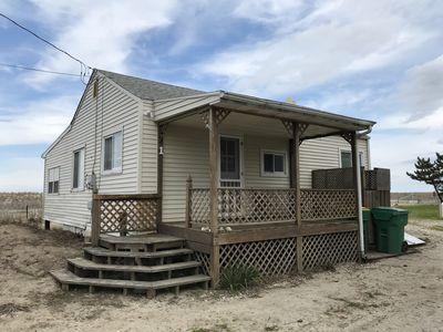 Photo for Cottage right on the beach (Pet Friendly)