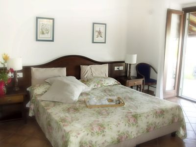 Photo for Etna-Sea View Room - Room with views of Mount Etna and the sea