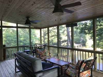 Photo for Brand New Screened In Deck on Deep Water Cove