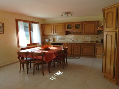 """Photo for spacious 2  bedrooms gite """"Ferrand"""" with Jacuzzi-Sauna in Trieves Vercors"""