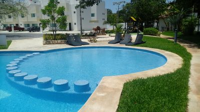 Photo for Near from 5a & the beach, 15 min from Xcaret. Wi-Fi, Netflix, survillance 24 hrs