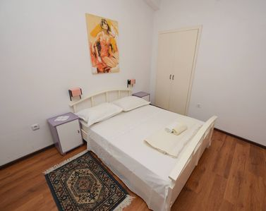 Sleeping area - studio apartment No. 1 for 2 people