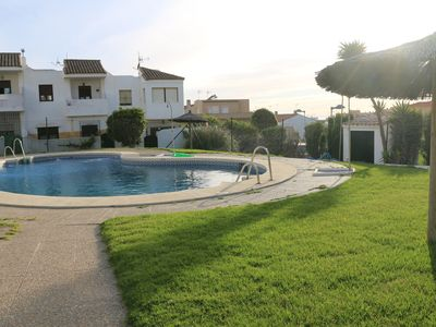 Photo for Large house in residential neighborhood with patio and pool