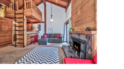 Photo for Northstar Ski & Summer Condo with Mountain Views! Beach is 8 minutes drive away!
