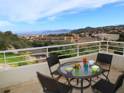Photo for Modern air-conditioned apartment with sea view in Ile Rousse