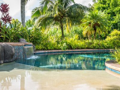 Photo for Maui Tropical Paradise - Vacation Home In Haiku - Pool/Spa