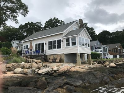 Photo for Lovely waterfront cottage in Point O' Woods Beach on the Connecticut Shoreline