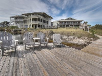 Photo for SPECIAL 20%OFF 7/25-8/1 Grayton PT.6 bd 4B,Front Row, Gulf/Lake view, dock