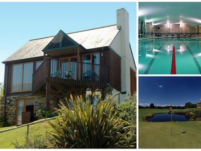 Photo for 3 B/R home near St Mellion(free golf)- stunning views, gym & pool membership inc
