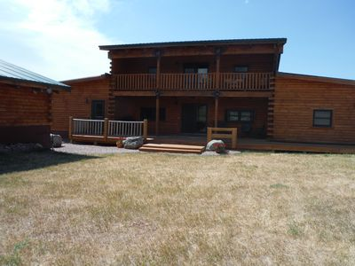 Photo for Spacious Log Home in Whitewood, SD available year around.