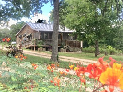Photo for A comfy, cozy farmhouse in San Marcos
