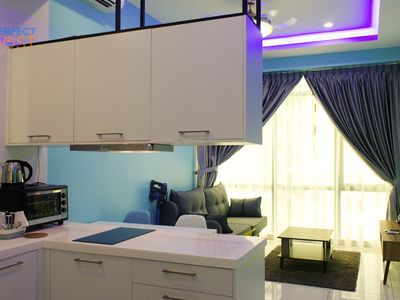 Photo for JB #11   Sea view with Sea breeze 1BR in Tebrau