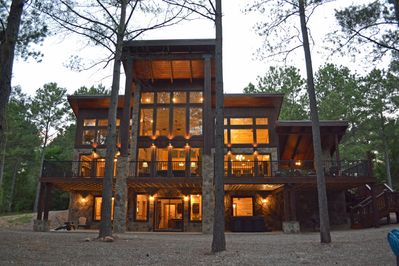 Iron Stone Lodge- Front View