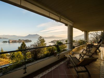 Photo for Sana luxury apartment in Stresa with amazing lake view
