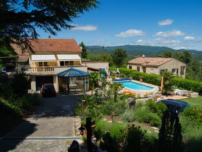 Photo for VILLA 6 PEOPLE WITH POOL GARD CEVENNES VERNAREDE THE PLACE SAYS Tavernole