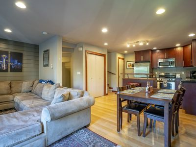 Photo for Spacious 3BR/3B, Parking, Walk to UW & Lake Union!