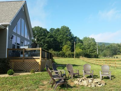 Photo for Newly Constructed Mountain Home with Wonderful Views, yet Close to Town!